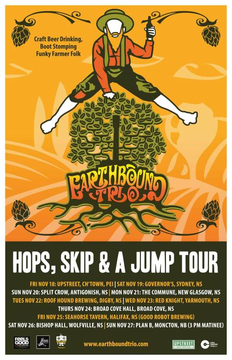 Earthbound Trio Hops Skip And Jump Tour