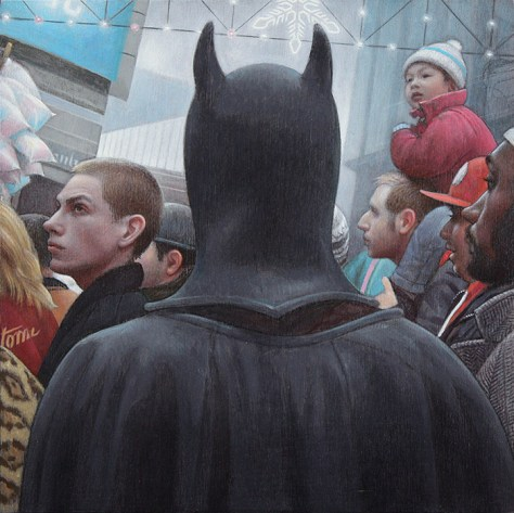 ('Batman' by Glenn Priestely)
