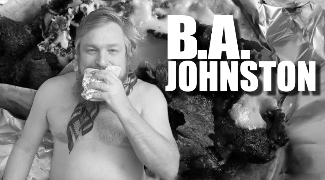 New Music: BA Johnston's New Single 'I Need Donair Sauce'