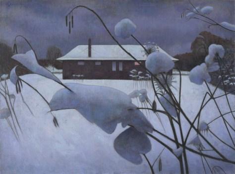 ('Backyard Winter' by Glenn Priestley)