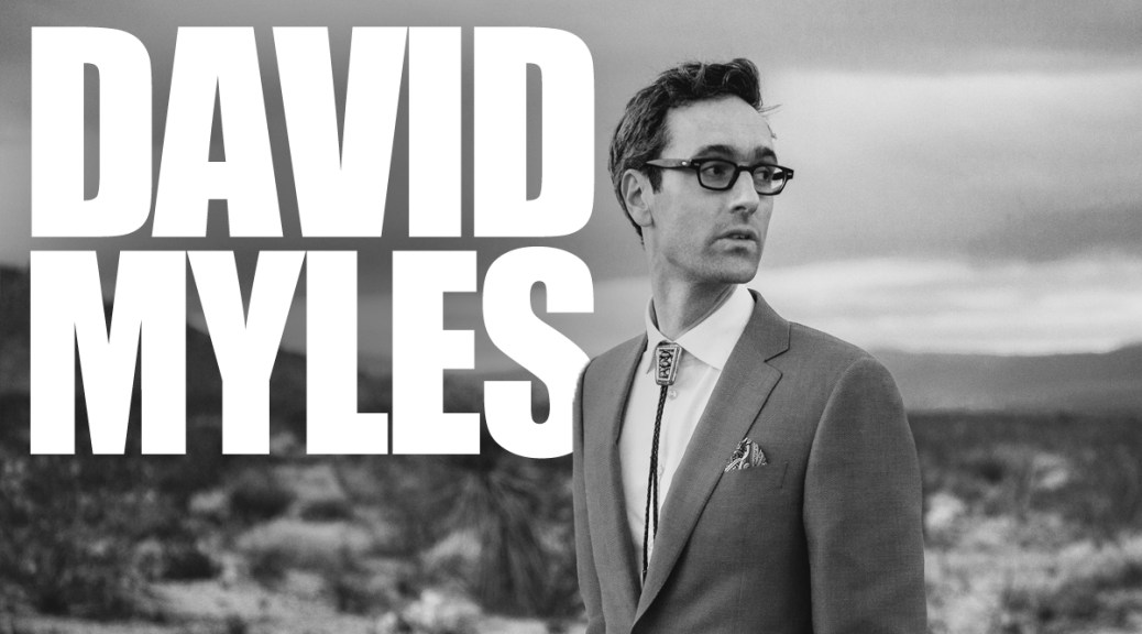Single: David Myles Channels Roy Orbison With 'Look At Me'