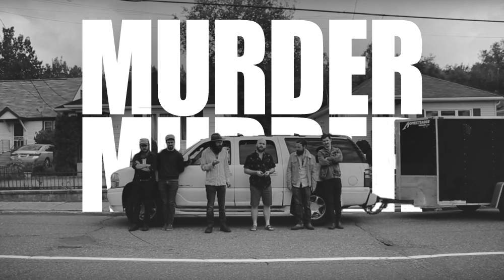 Music Video: Murder Murder Head To Red Rock, Ontario For 'Pale Rider Blues'