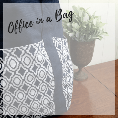 How to Make Your Own Office in a Bag
