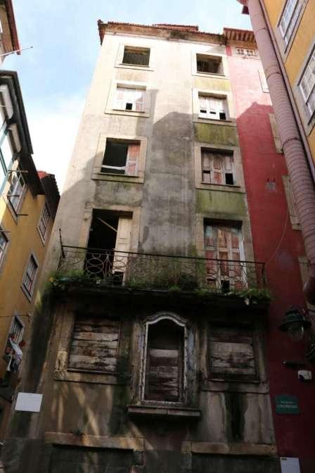 Derelict Building Porto, Porto, Portugal