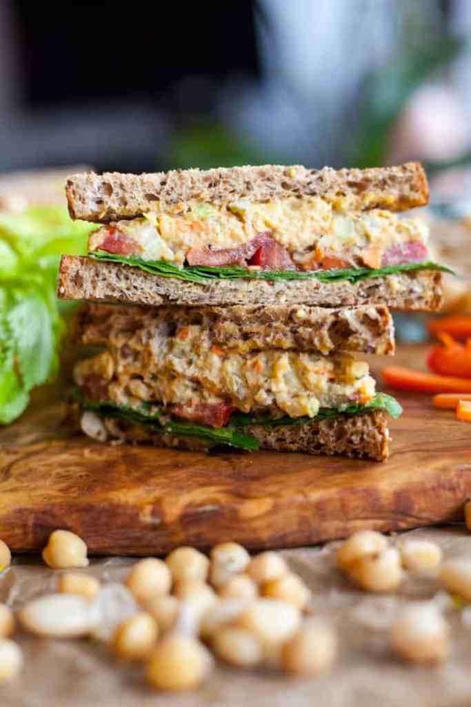 vegan tuna salad sandwich recipe