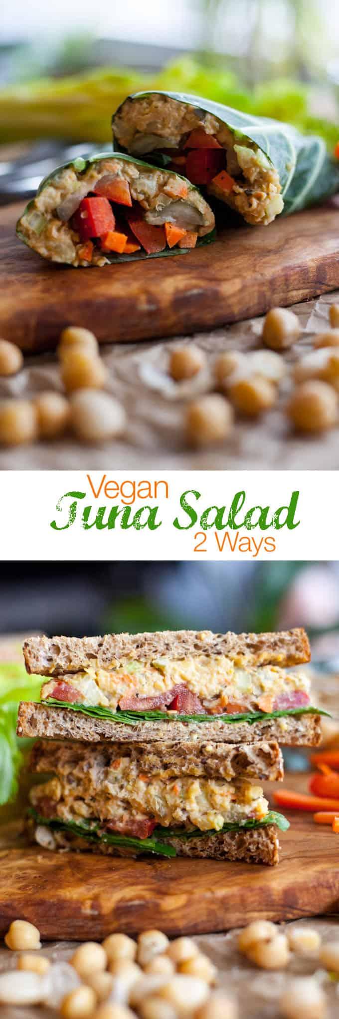 vegan tunna salad recipe