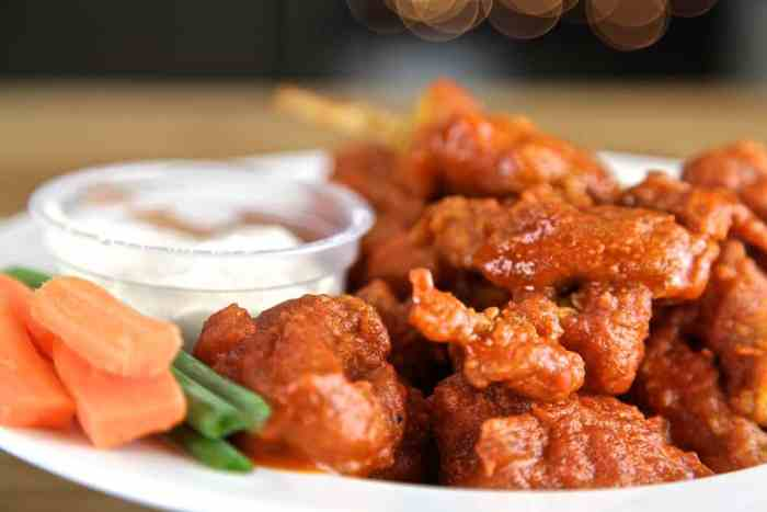 Vegan Hot Wings