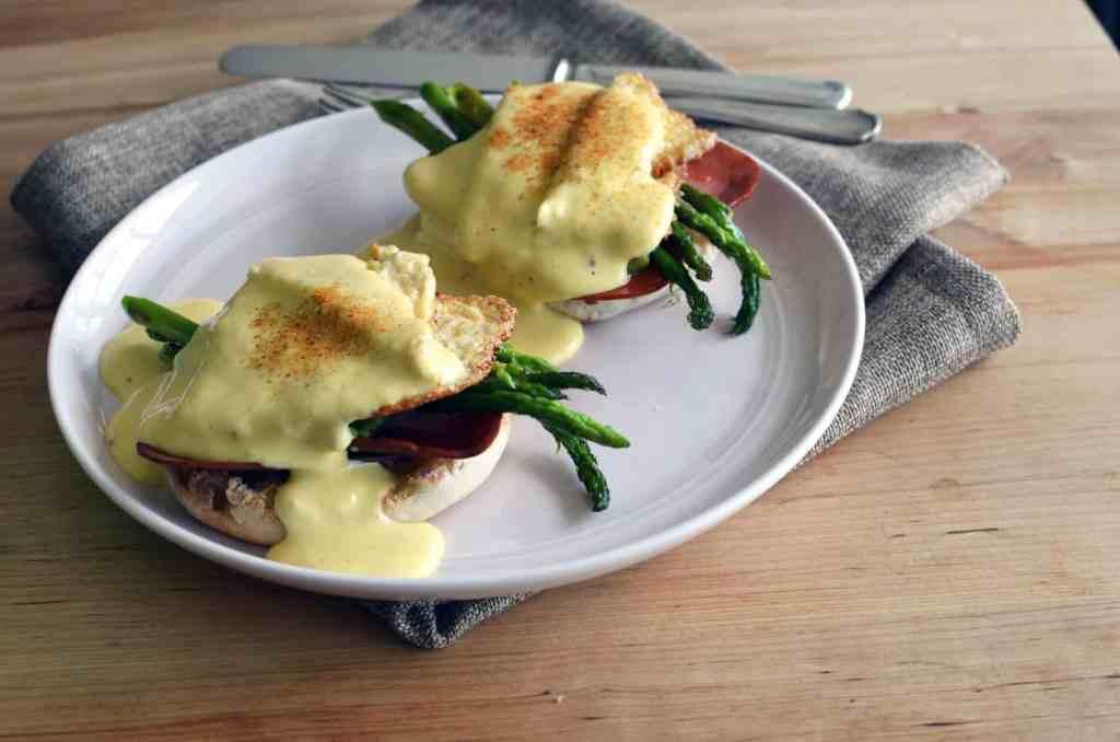 vegan eggs benny recipe