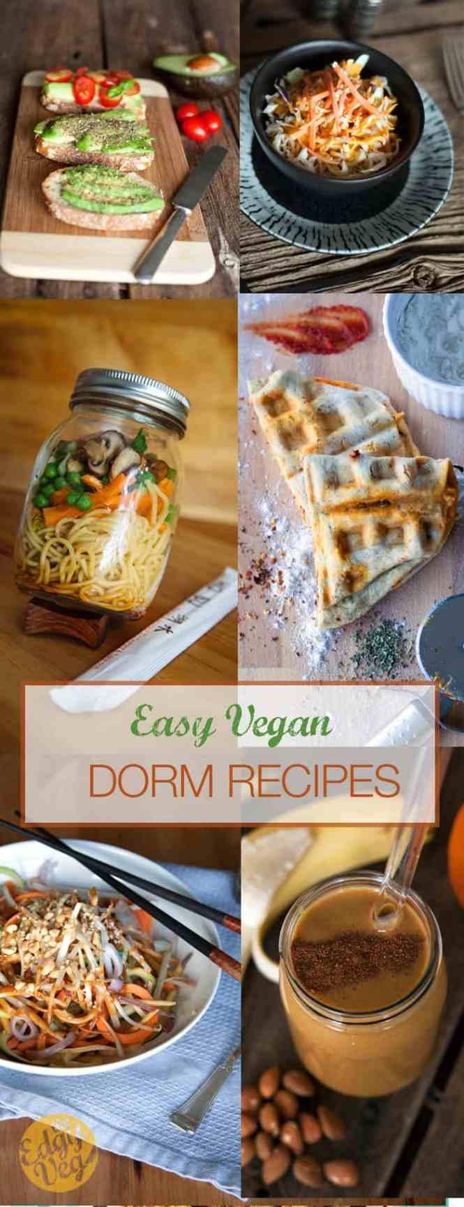 Vegan College Dorm Recipes