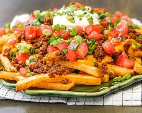 Fries Supreme Vegan Recipes