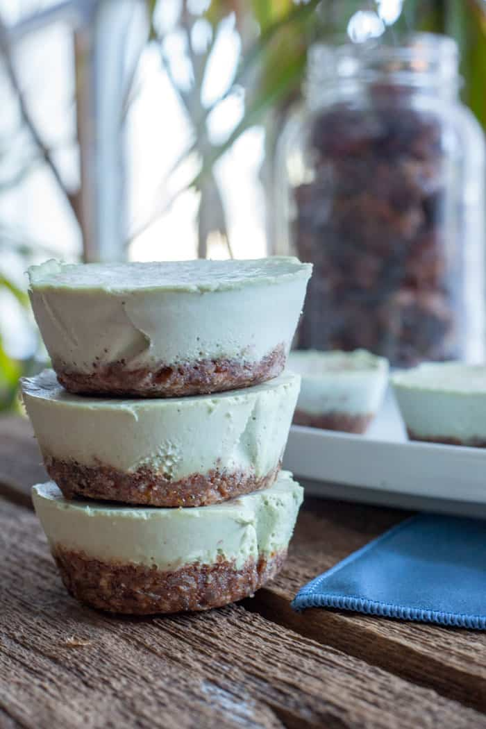 Vegan Mint Chip Cheese Cake Recipe