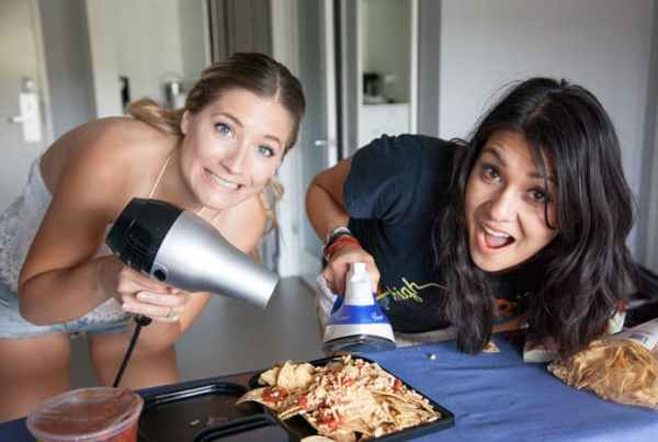 Hotel Secrets | MacGyver Style Quesadillas and more made in a Hotel Room with Nikki Limo