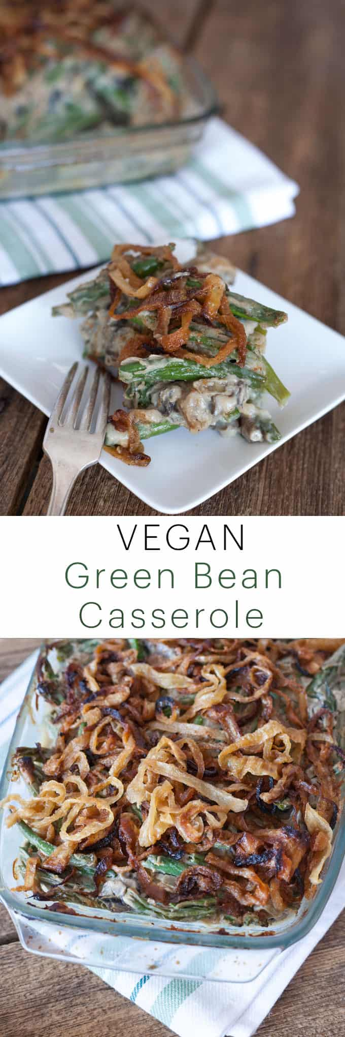 Gluten Free Green Bean Casserole Recipe | Dairy Free