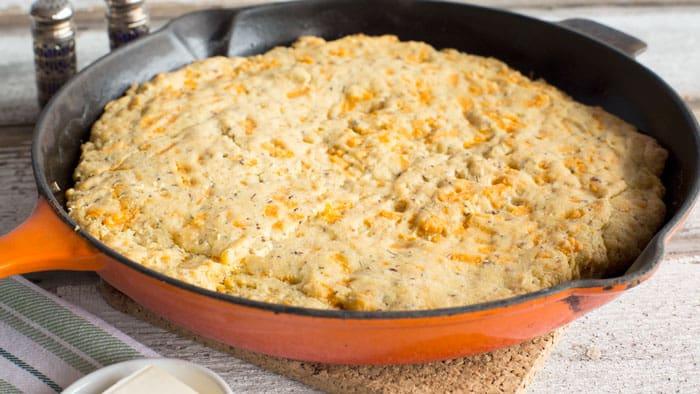 Cheesy Cornbread Recipe | Vegan Holiday Recipe