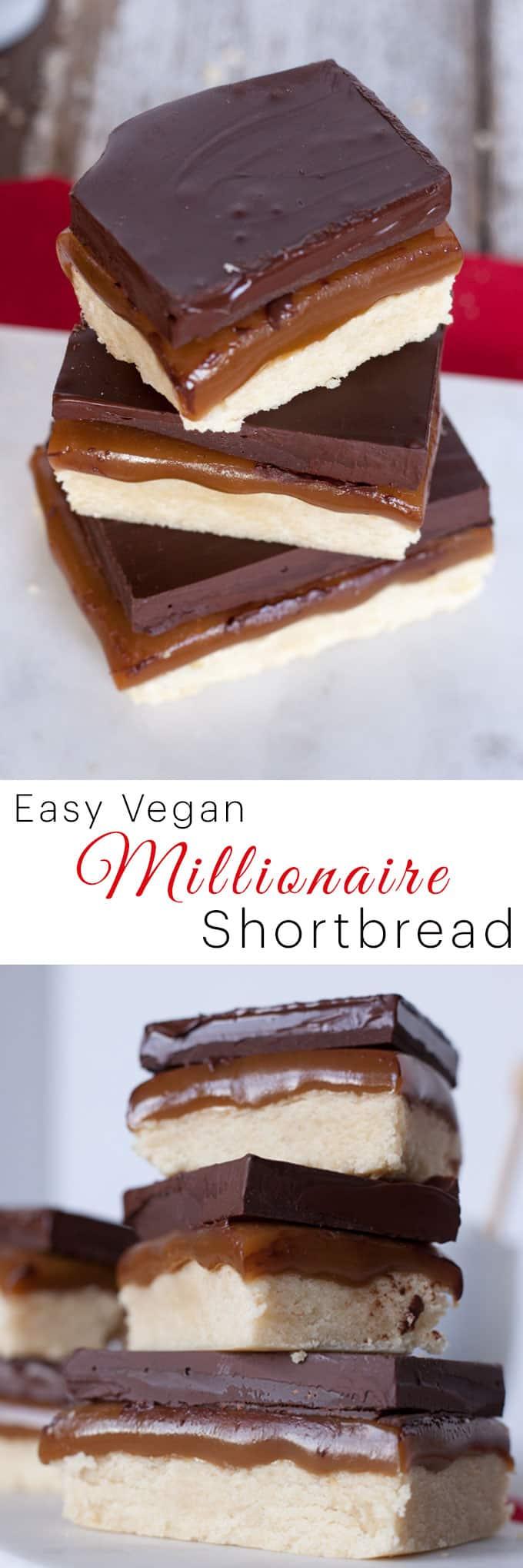 vegan Millionaire Shortbread recipe