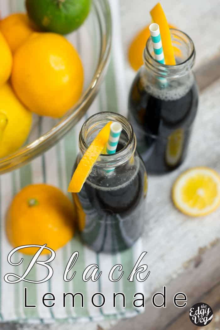 DIY Black Charcoal Lemonade Recipe | Hangover Cure