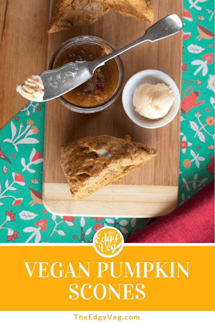 Best Vegan Pumpkin recipes pumpkin scones