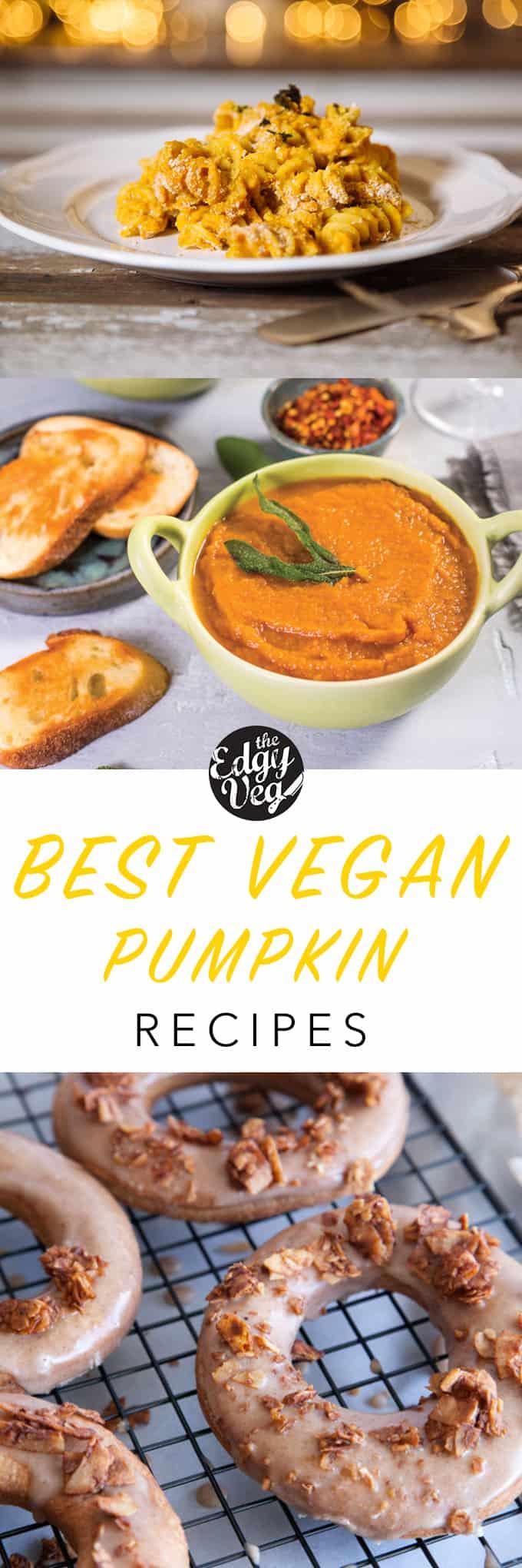 Edgy Veg pumpkin recipes