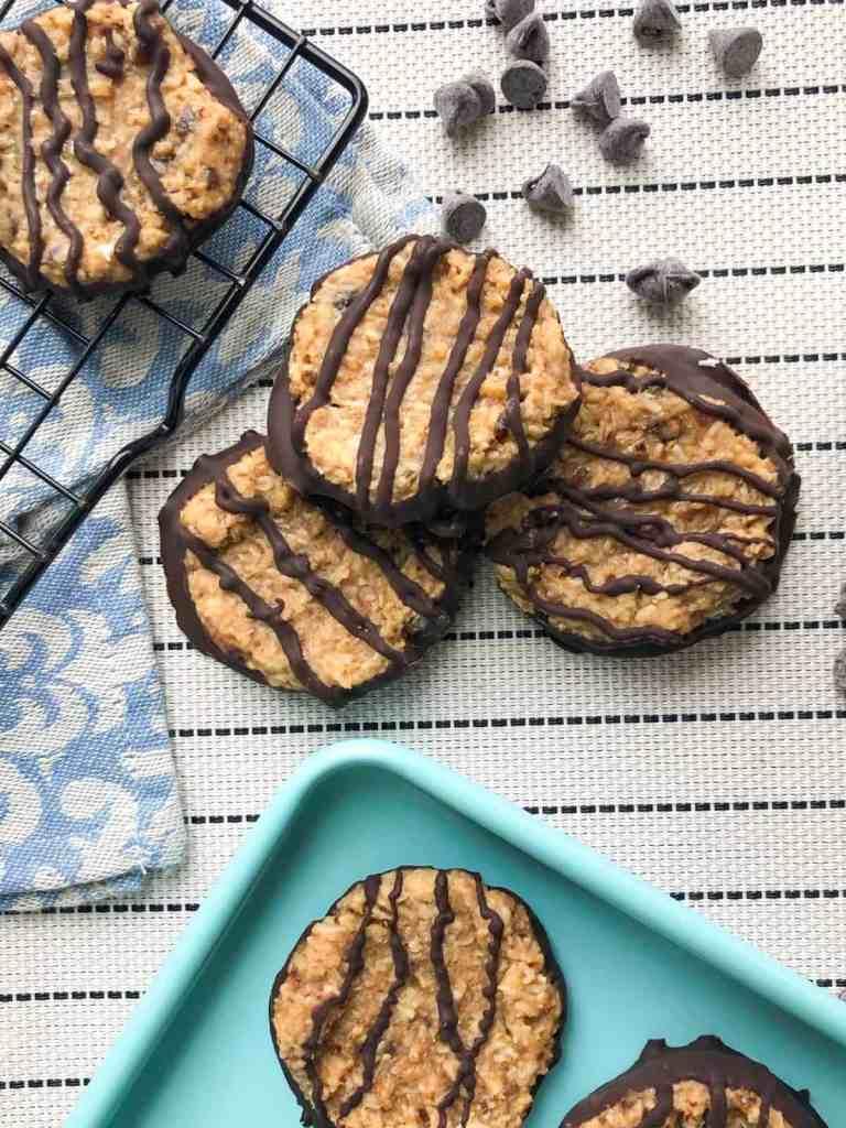Vegan Coconut Chocolate Cookies
