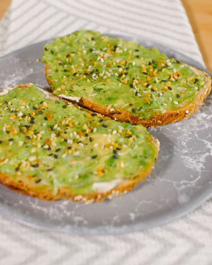 Avocado Toast Toppings x Everything Bagel Recipe