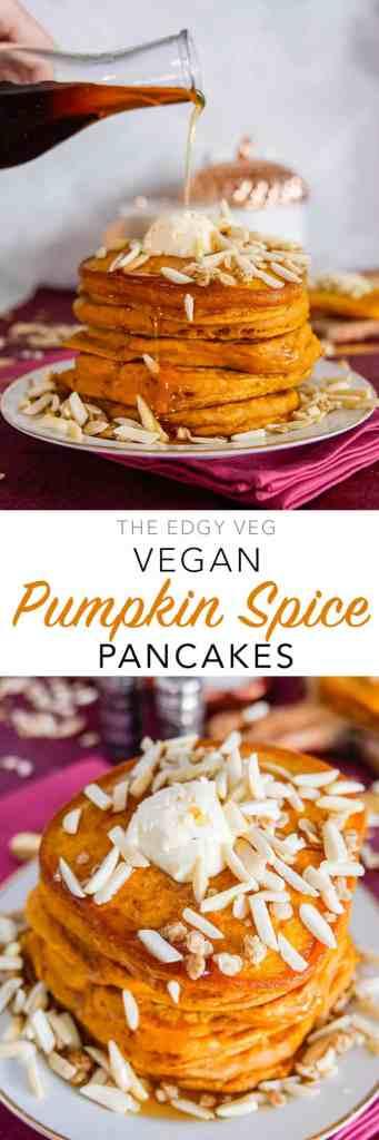 Tasty Pumpkin Spice Pancakes Recipe