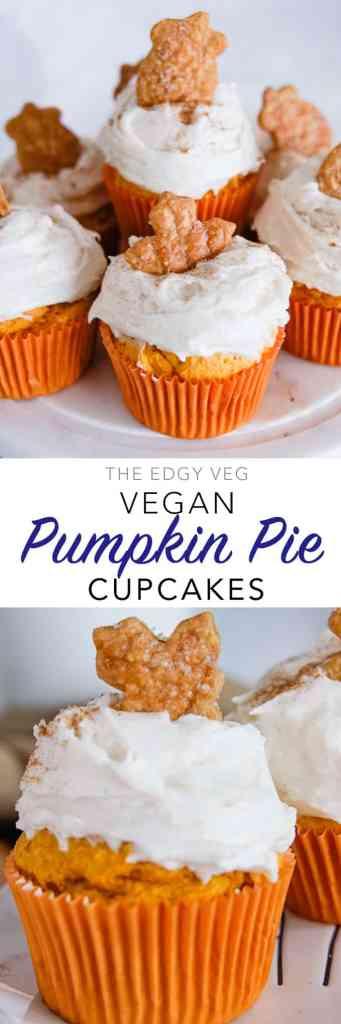 Tasty Pumpkin Pie Cupcakes Recipe