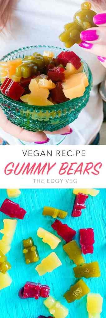 Vegan Gummy Bears Edgy Veg