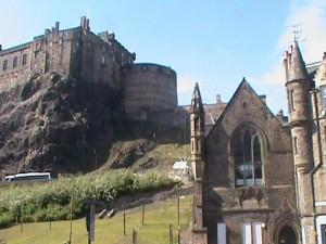 Grassmarket Castle View