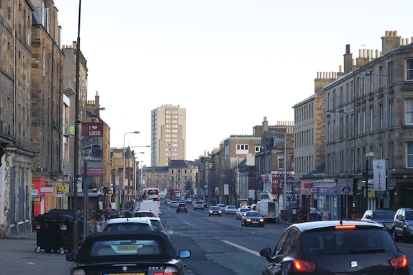 TER Looking down Leith Walk