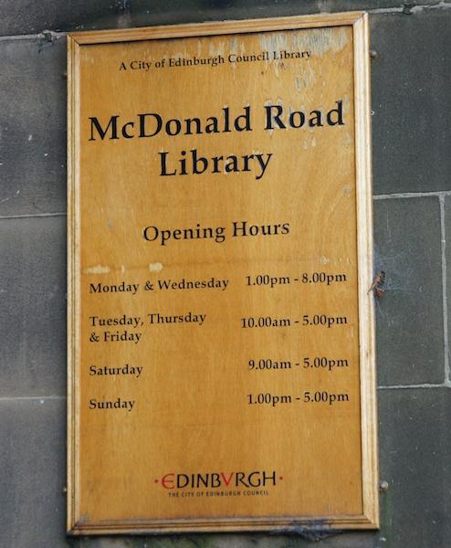 TER McDonald Road Library