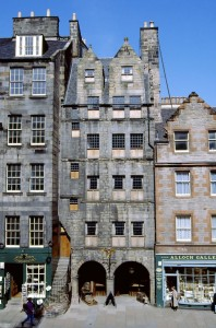Gladstone's Land, Edinburgh.