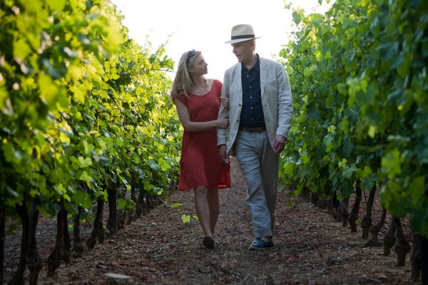 Natalie Dormer and James Fox in A Long Way From Home (photo from EIFF)