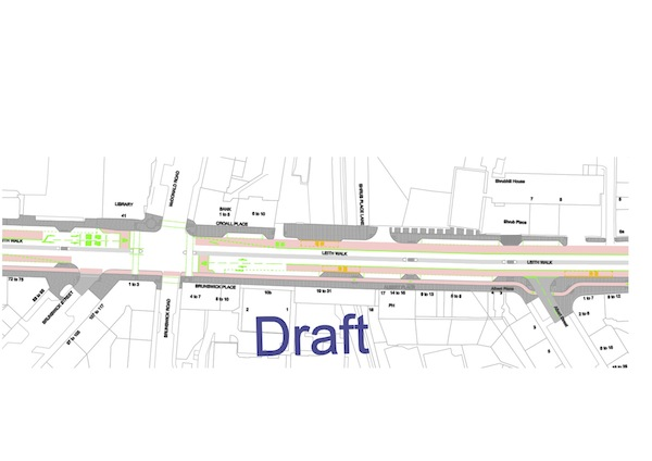 Leith Walk sections 2 - 4