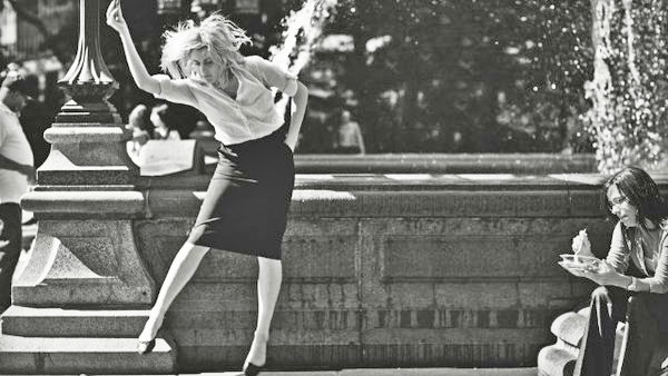 Greta Gerwig throws some shapes in Noah Baumbach's Frances Ha