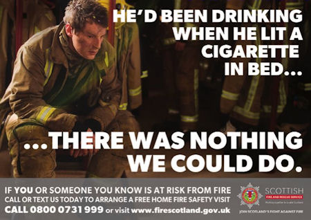 New year message from the scottish fire and rescue service the webnewsandfacebookpostpicturecigarettesandalcohol m4hsunfo