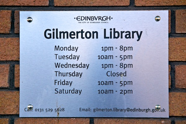 Gilmerton Library 7