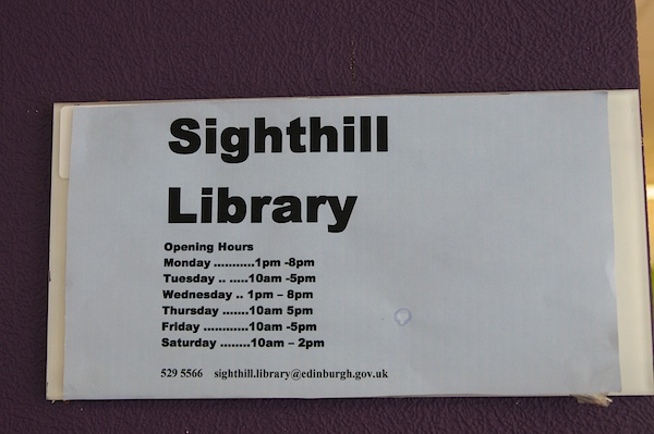 TER Sighthill Library