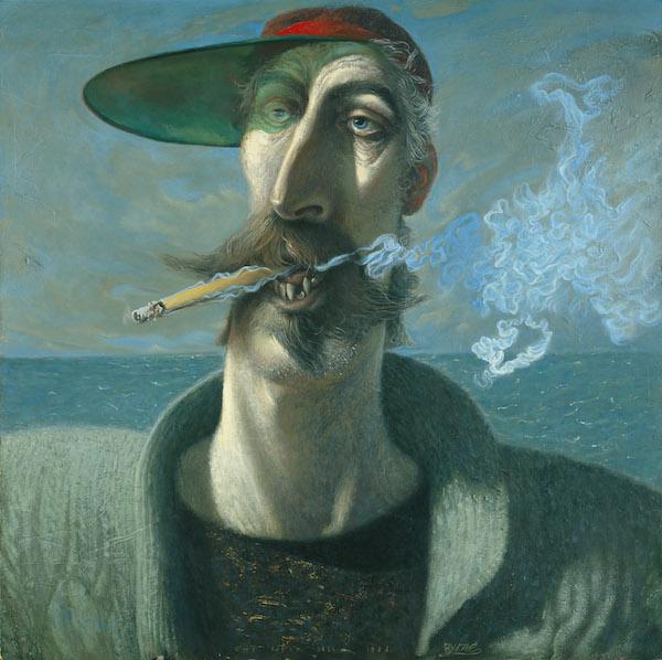 Self Portrait by John Byrne