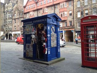 TER Royal Mile top of Mound Police Box - 1