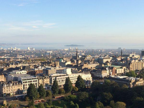 TER Edinburgh Castle looking north east