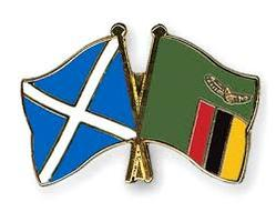 scottish & zambian flags