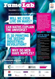 famelab poster