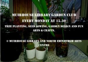 muirhouse library garden club