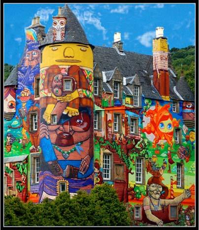 kelburn castle graffiti project 2