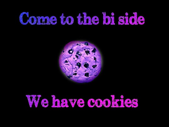 LGBT bi and beyond biscuit