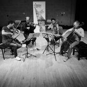 edinburgh quartet with Fiona