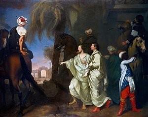 James Hamilton painting of Palmyra