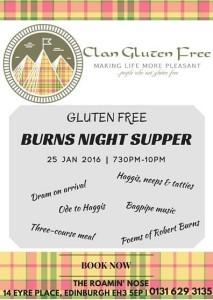 clan gluten free burns supper 2016