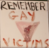 holocaust gay victims memorial tile