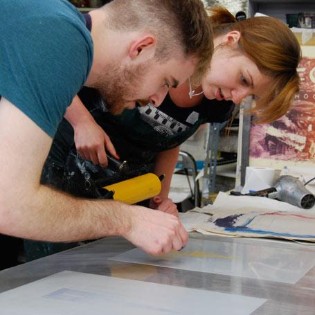 beyond art school at ed printmakers
